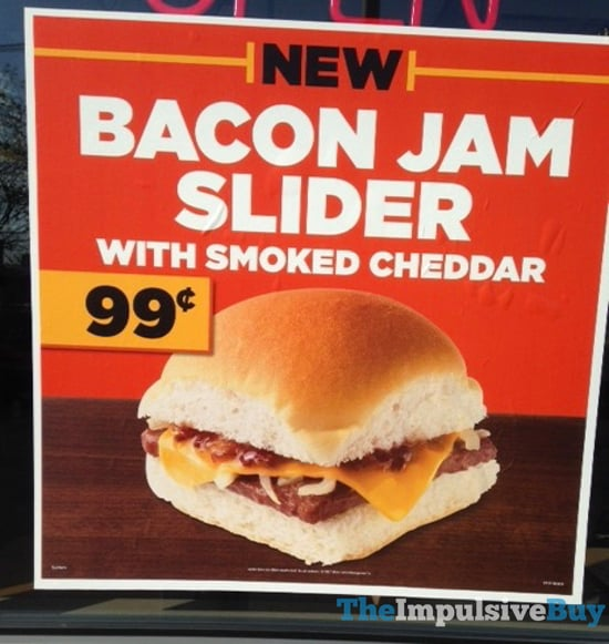White Castle Bacon Jam Slider