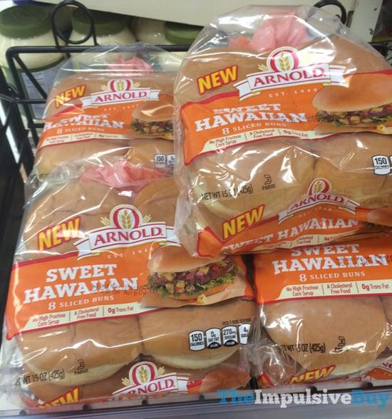 Arnold Sweet Hawaiian Sliced Buns