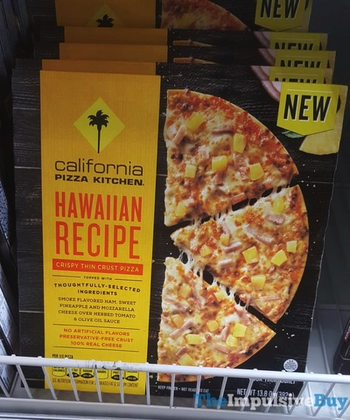 California Pizza Kitchen Hawaiian Recipe Crispy Thin Crust Pizza