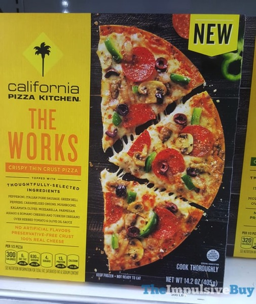 California Pizza Kitchen The Works Crispy Thin Crust Pizza