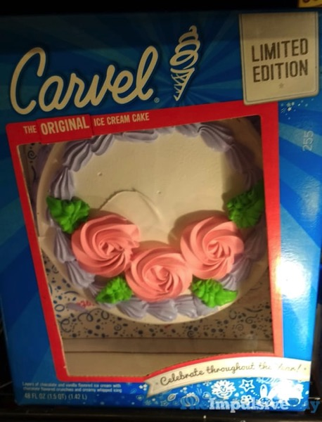 Carvel Limited Edition Ice Cream Cake