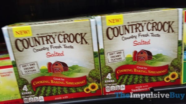 Country Crock made with Sunflower Oil