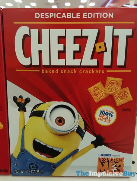 Despicable Edition Cheez It Crackers