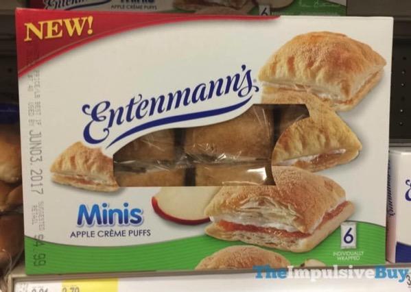 Entenmann s Minis Apple Creme Puffs