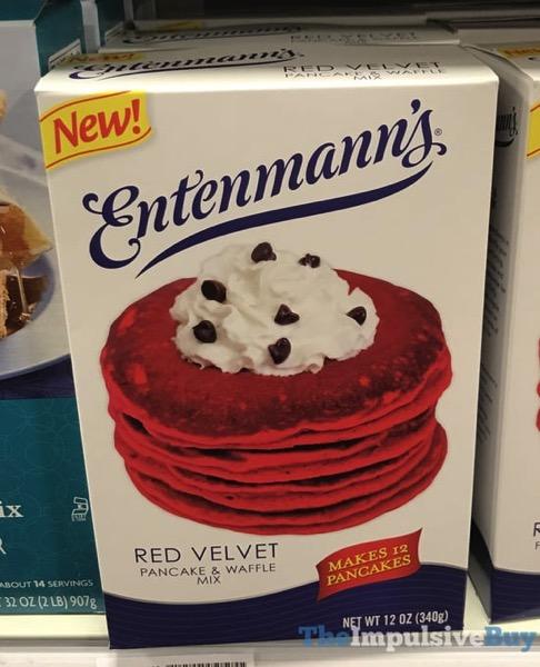 Entenmann s Red Velvet Pancake  Waffle Mix