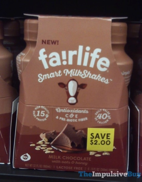 Fairlife Milk Chocolate Smart Milkshakes