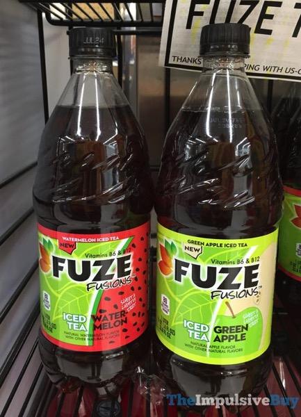 Fuze Fusions  Watermelon Iced Tea and Green Apple Iced Tea