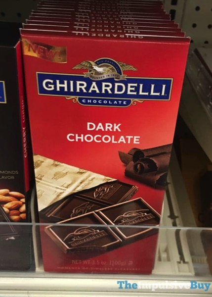 Ghiradelli Dark Chocolate Bar