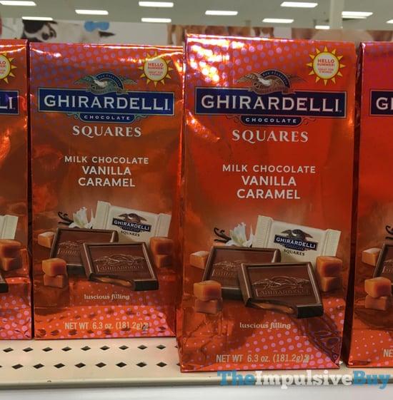 Ghirardelli Squares Milk Chocolate Vanilla Caramel