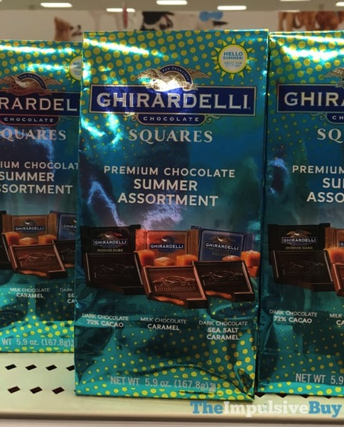 Ghirardelli Squares Premium Chocolate Summer Assortment