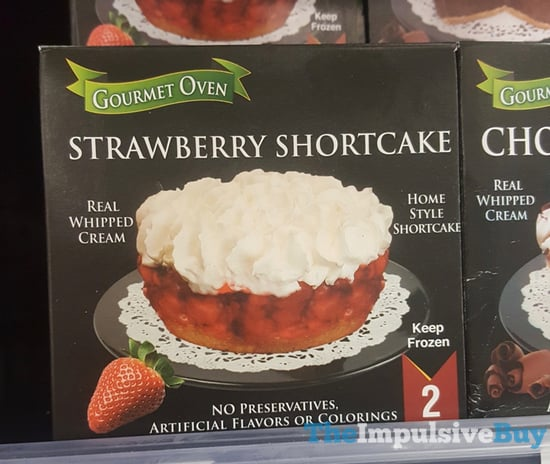Gourmet Oven Strawberry Shortcake