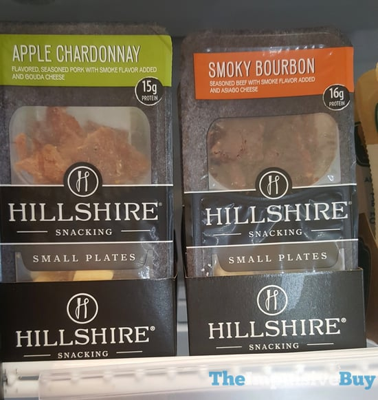 Hillshire Snacking Small Plates  Apple Chardonnay and Smoky Bourbon