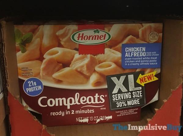 Hormel Chicken Alfredo Completes XL