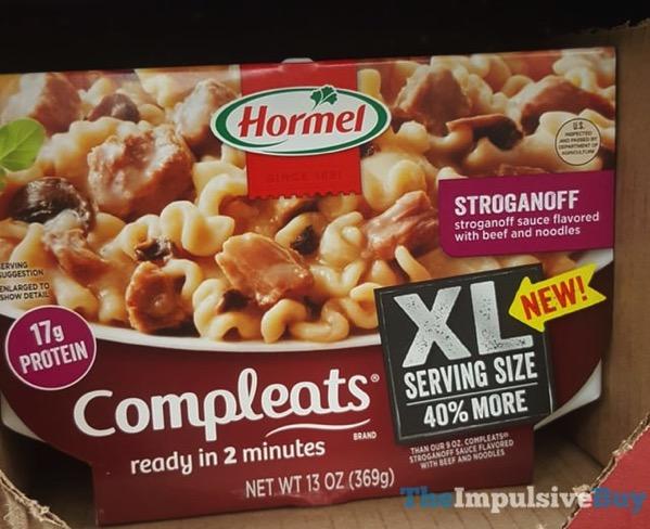 Hormel Stroganoff Completes XL