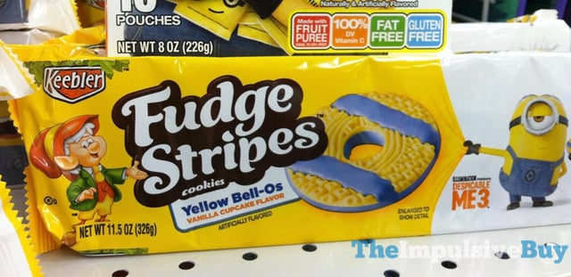 Keebler Yellow Bell Os Fudge Stripes Cookies