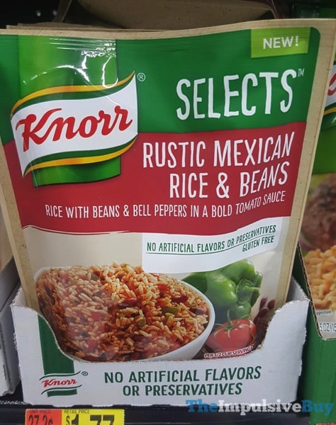 Knorr Selects Rustic Mexican Rice  Beans