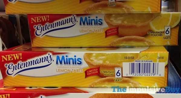 Limited Edition Entenmann s Minis Lemon Tarts