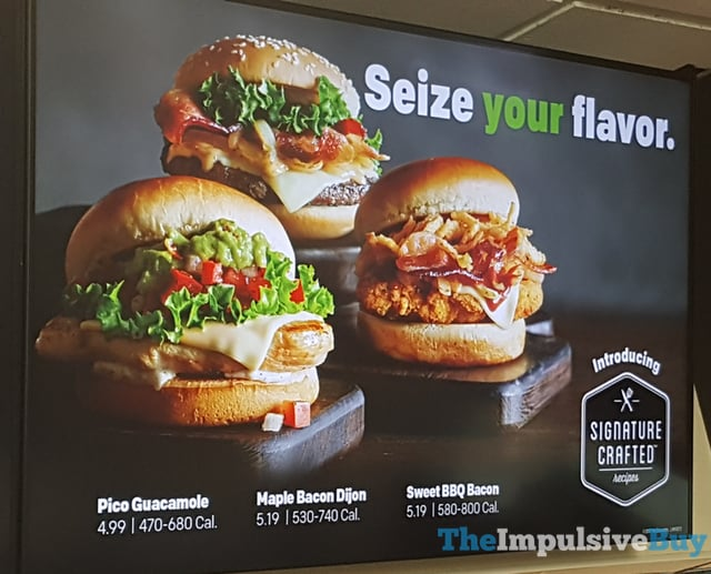 Review mcdonald 39 s signature crafted recipes the for Mcdonald s fish sandwich price