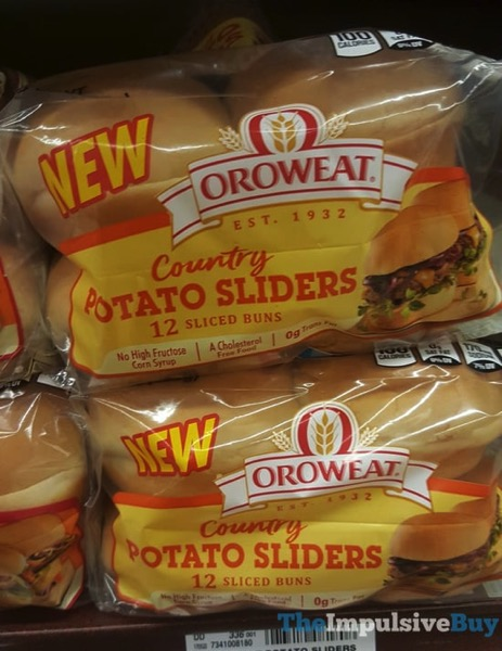 Oroweat Country Potato Sliders
