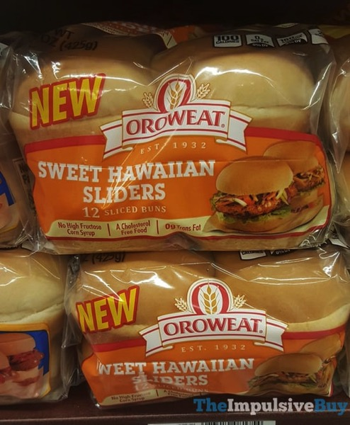 Oroweat Sweet Hawaiian Sliders