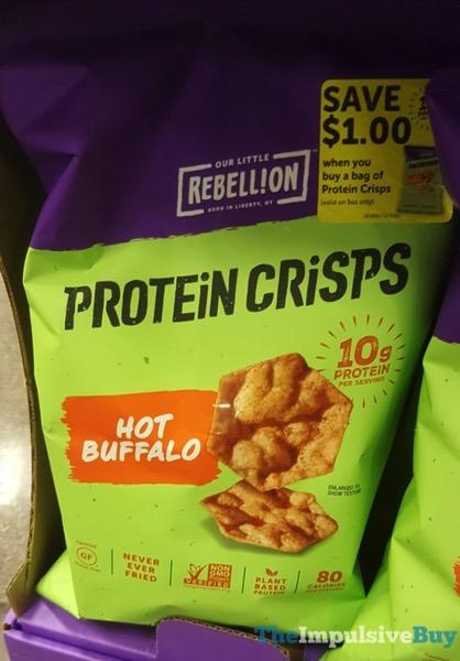 Our Little Rebellion Protein Crisps Hot Buffalo