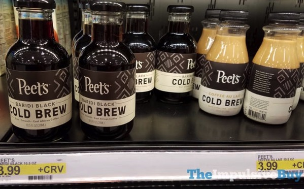 Peet s Cold Brew  Baridi Black and Coffee Au Lait