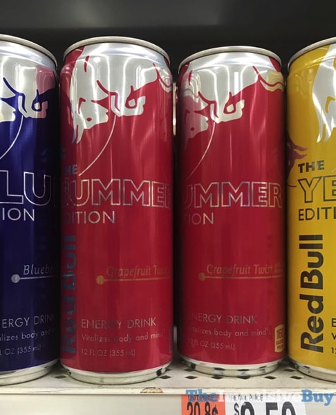 Red Bull The Summer Edition Grapefruit Twist Cans