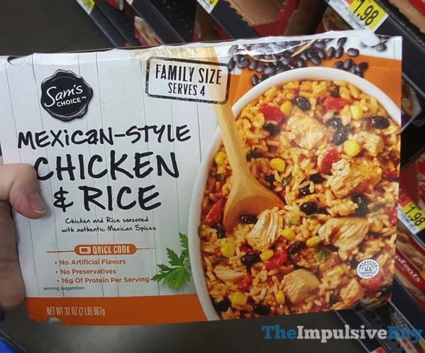 Sam s Choice Mexican Style Chicken  Rice