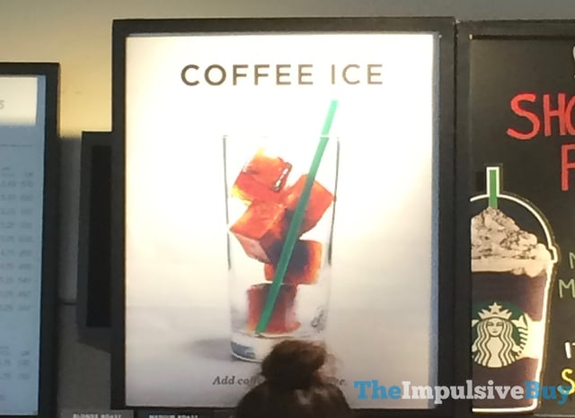 Starbucks Coffee Ice Cubes