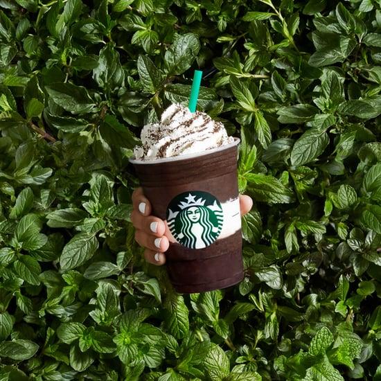 Starbucks Midnight Mint Mocha Frappuccino