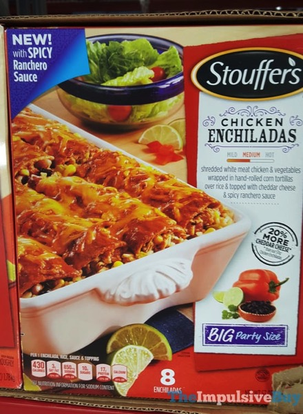 Stouffer s Chicken Enchiladas with Spicy Ranchero Sauce