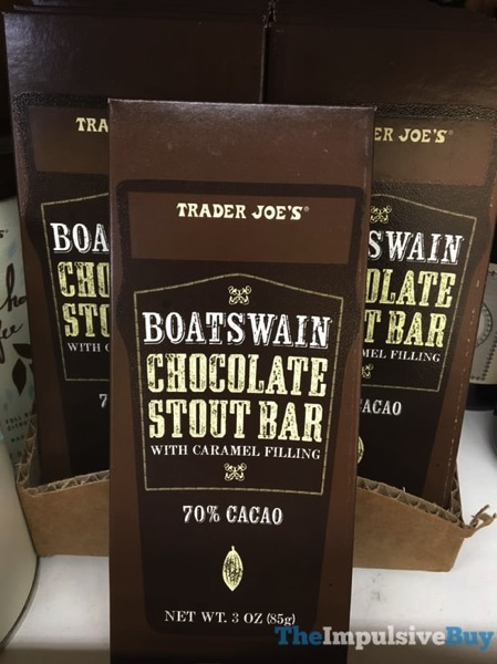 Trader Joe s Boatswain Chocolate Stout Bar