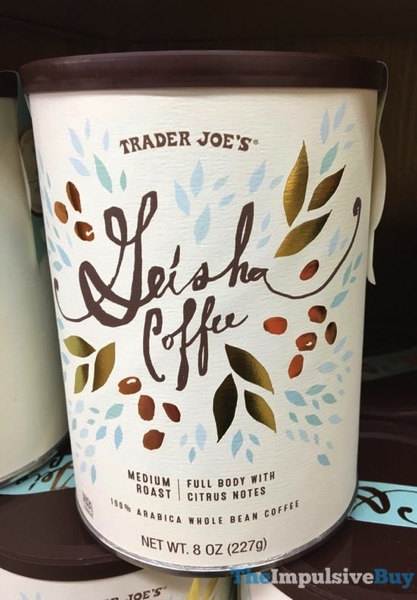 Trader Joe s Geisha Coffee