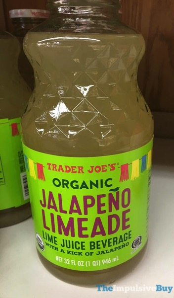 Trader Joe s Organic Jalapeno Limeade