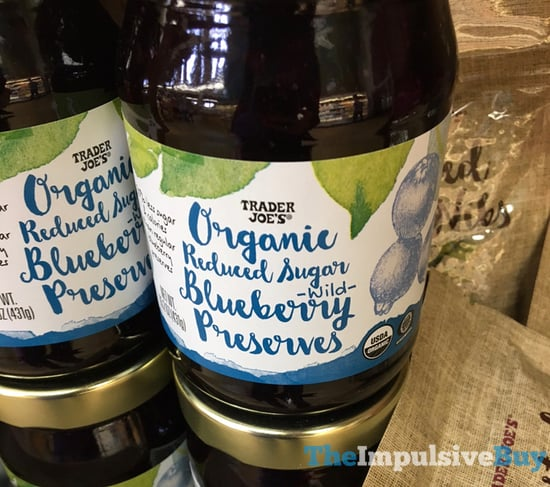 Trader Joe s Organic Reduced Sugar Wild Blueberry Preserves