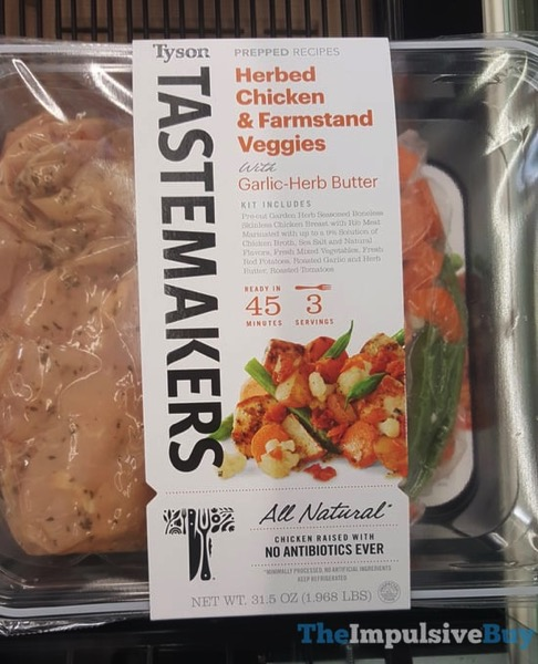 Tyson Tastemakers Herbed Chicken  Farmstand Veggies