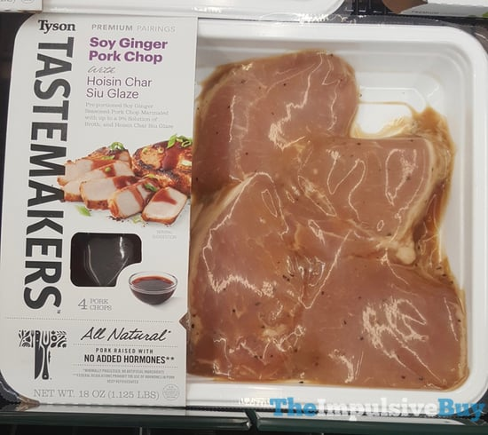 Tyson Tastemakers Soy Ginger Pork Chop