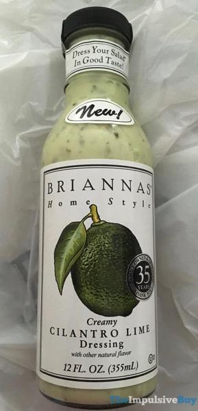 Brianna s Home Style Creamy Cilantro Lime Dressing