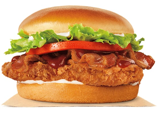 Burger King BBQ Bacon Crispy Chicken Sandwich