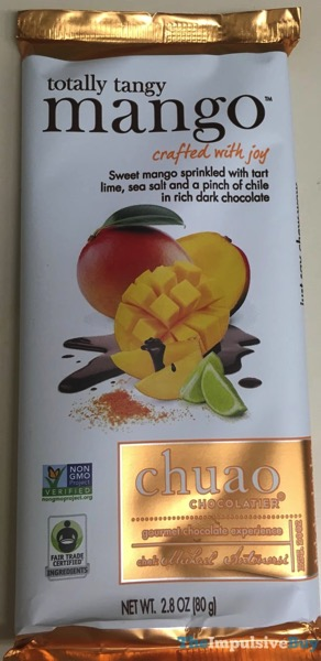 Chuao Chocolatier Totally Tangy Mango Bar