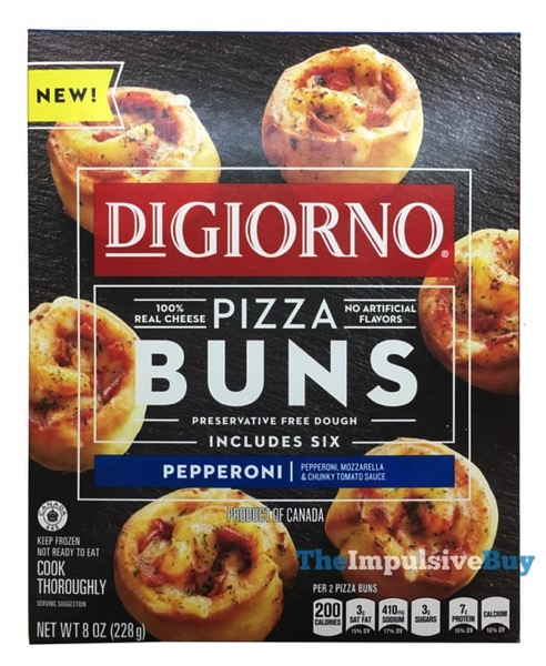 DiGiorno Pepperoni Pizza Buns