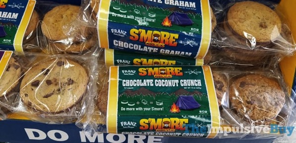 Franz Bake Shoppe Limited Edition S more Cookies Chocolate Coconut Crunch