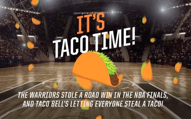 Free Taco Bell Doritos Locos Taco Today