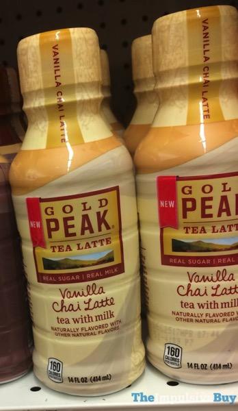 Gold Peak Vanilla Chai Tea Latte