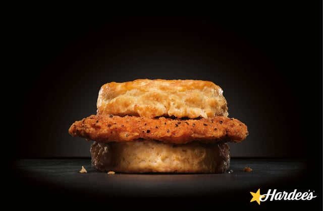 Hardee s Cajun Chicken Fillet Biscuit