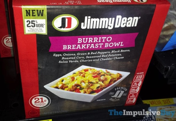 Jimmy Dean Burrito Breakfast Bowl