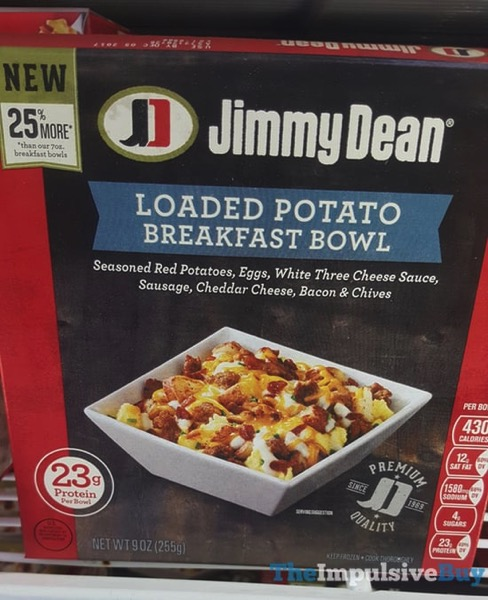 Jimmy Dean Loaded Potato Breakfast Bowl