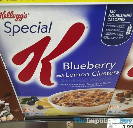 Kellogg s Special K Blueberry with Lemon Clusters Cereal