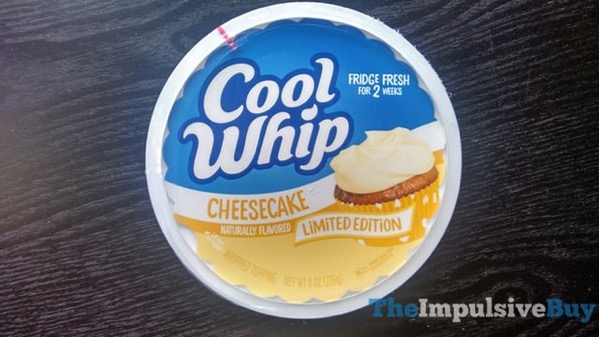 Limited Edition Cheesecake Cool Whip