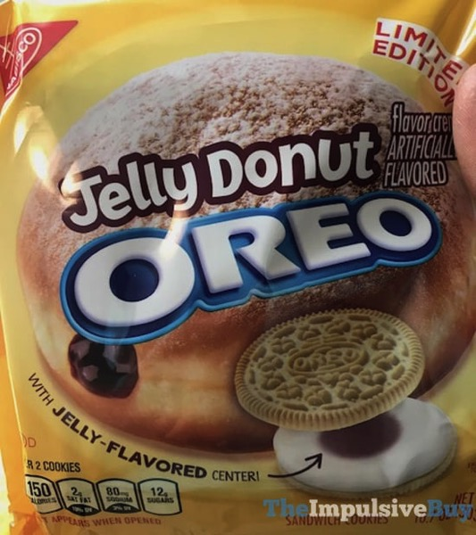 Limited Edition Jelly Donut Oreo Cookies